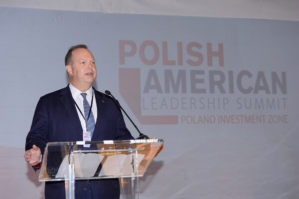 Charles  McLaughlin, Senior Advisor, Overseas Private Investment Corporation / Źródło:  FORUM/Radosław Nawrocki